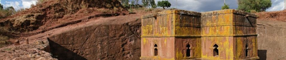 Lalibela - Bet Giorgis Church